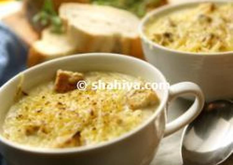 Original Onion Soup recipe, Finding Healthful Fast Food