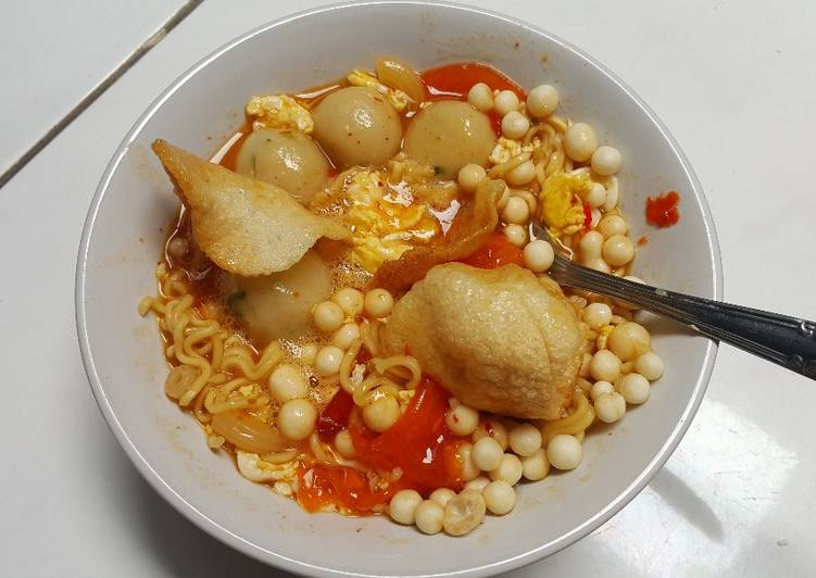 Resep Cilok Seblak Kuah Pedas Enyoy Oleh Arini Mustikaningrum Cookpad