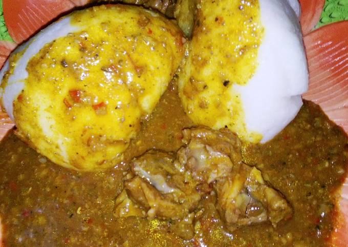 Miyar Busasshen Kubewa (Dry Okro Soup)