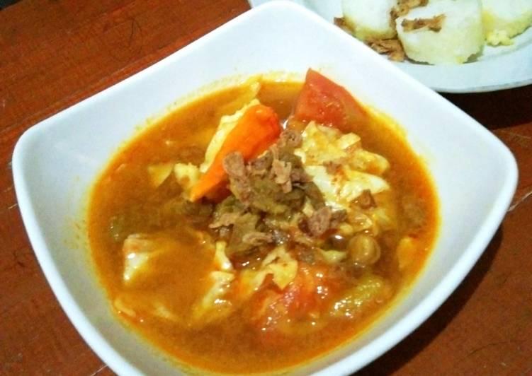 Tongseng kambing empuk - cookandrecipe.com