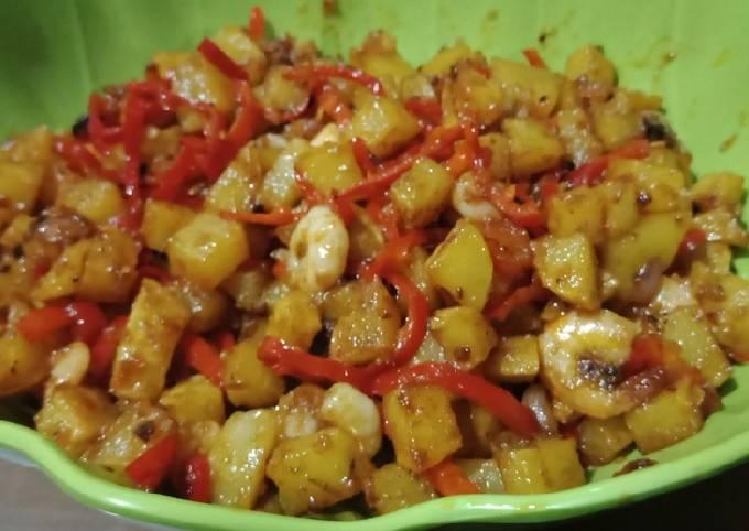 Sambal goreng kentang udang, Selamat hari raya idul Fitri 1441 H
