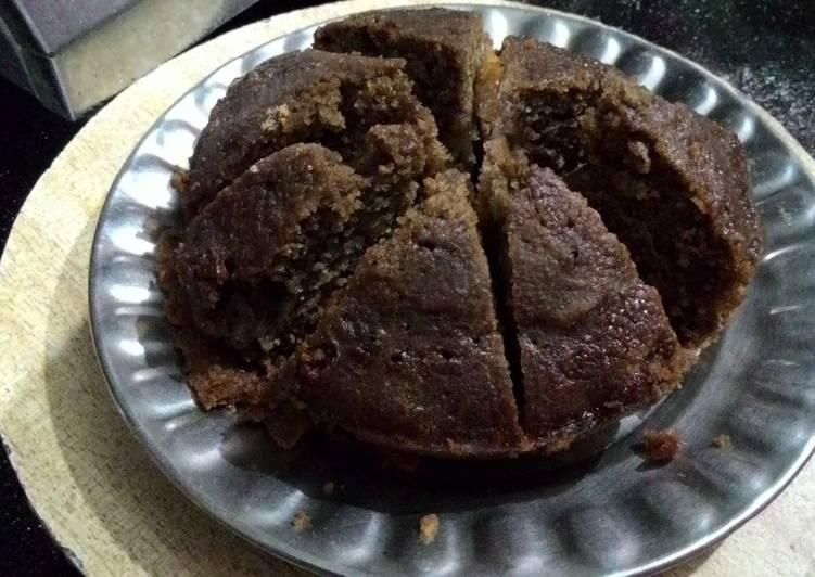 Step-by-Step Guide to Make Award-winning Chocolate & burbun biscuits cake