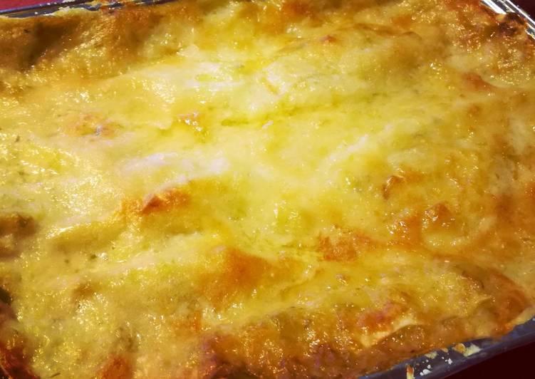 Leek lasagna