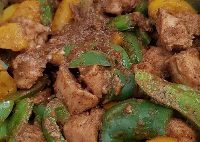 Pepper & Capsicum Chicken