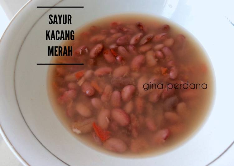 Sayur kacang merah