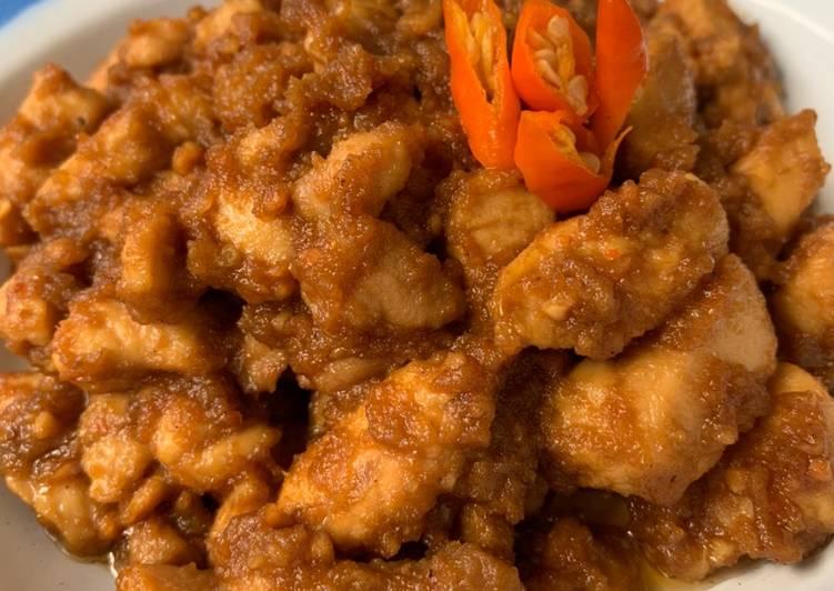 Resep Sate Ayam Goreng Bumbu Kacang Ekonomis Untuk Jualan