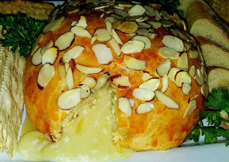 Mike's Cresent Wrapped Apple Baked Brie, Help Your To Be Healthy And Strong with The Right Foods