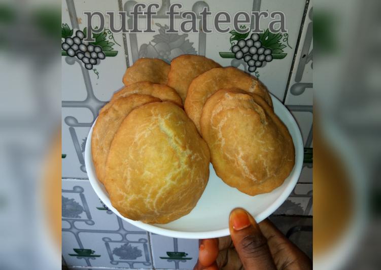 Recipe of Ultimate Puff fateera