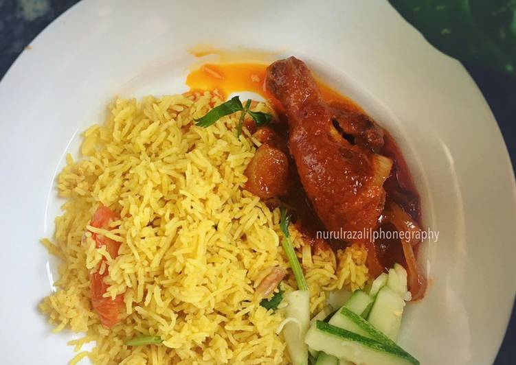 Nasi Briyani Ayam Merah - velavinkabakery.com