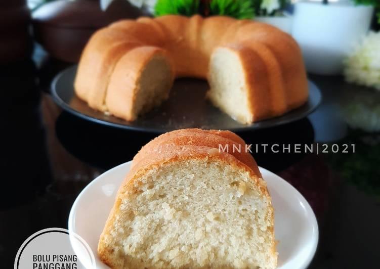 Bolu Pisang Panggang Lembut - cookandrecipe.com