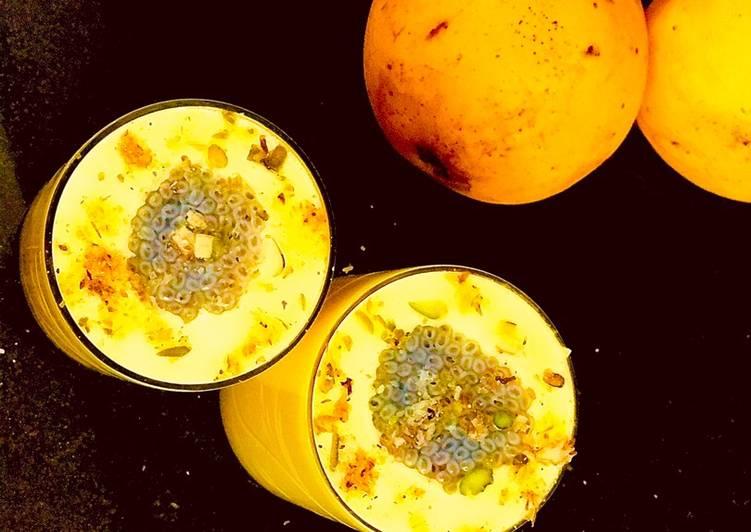 Recipe of Award-winning Mango Chia Lassi