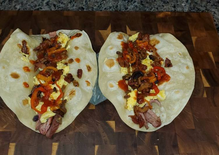 How to Make Yummy Tri-Tip Breakfast Tacos
