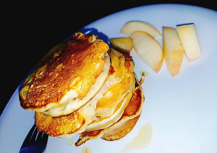 Recipe of Super Quick Homemade Apple pancake