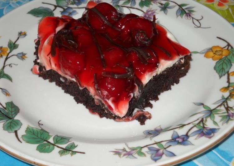 Black Forrest Brownies