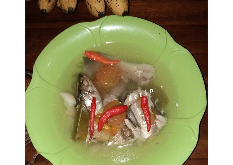 21. Sup Ikan Thailand (Asem-asem Belanak)