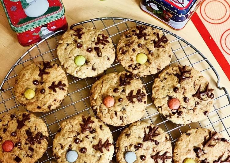 Cookies de Noël petit rennes