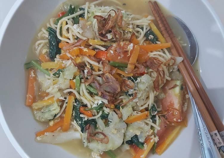 Mie rebus sayuran