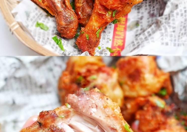 Paha Ayam Goreng Bumbu Buah