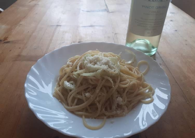 Spaghetti al finocchio