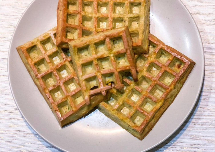 Easiest Way to Make Delicious Gaufre de courgette