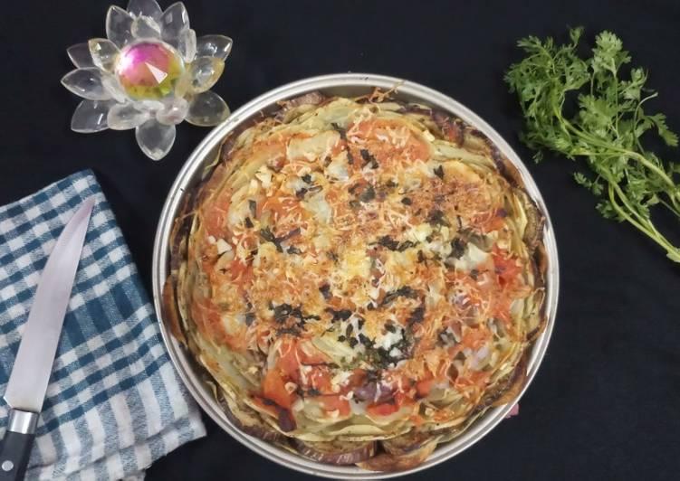 Briam Traditonal Greek roasted vegetables