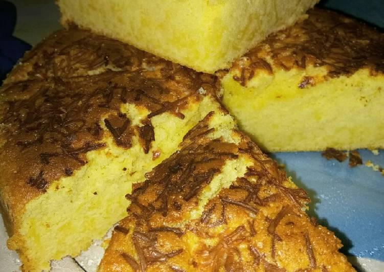 Cara Gampang Menyiapkan Bolu keju panggang lembut 😋 yang Bikin Ngiler