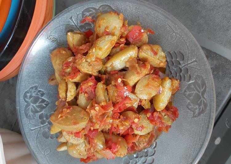 Resep: Jengkol goreng sambel