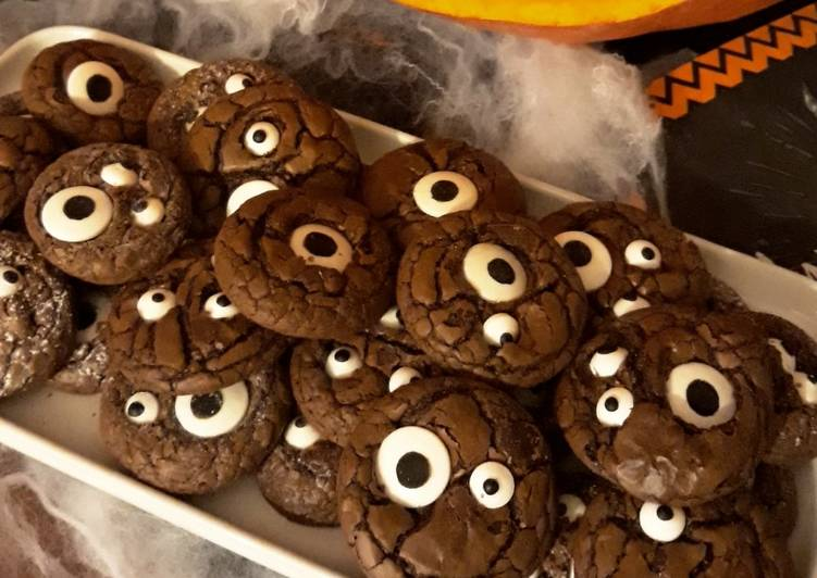 Recette Des ☆Cookies Yeux Ultra Choco☆