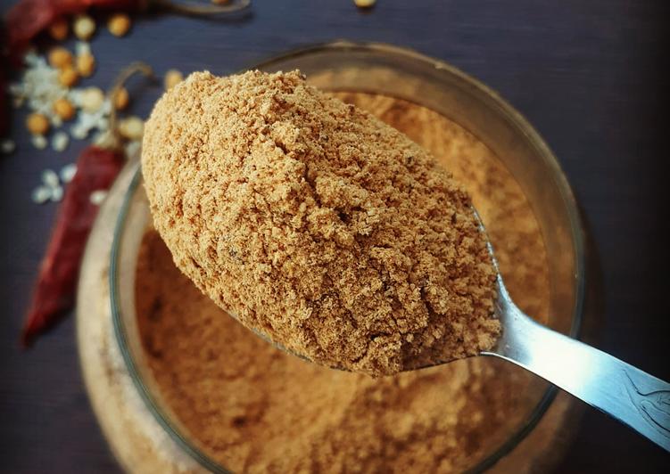 Recipe of Top-Rated Idli podi gun powder