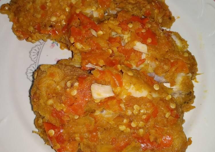 Ayam geprek kriuk