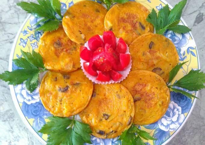 Resep Omelet Jamur Wortel Telur Tepung Bumbu Pedas Oleh Suji Sujinah Cookpad
