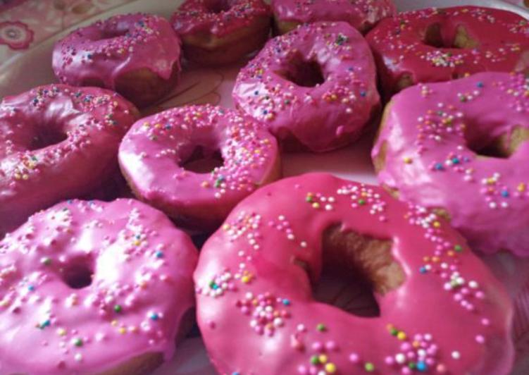Recipe: Delicious Glazed doughnut