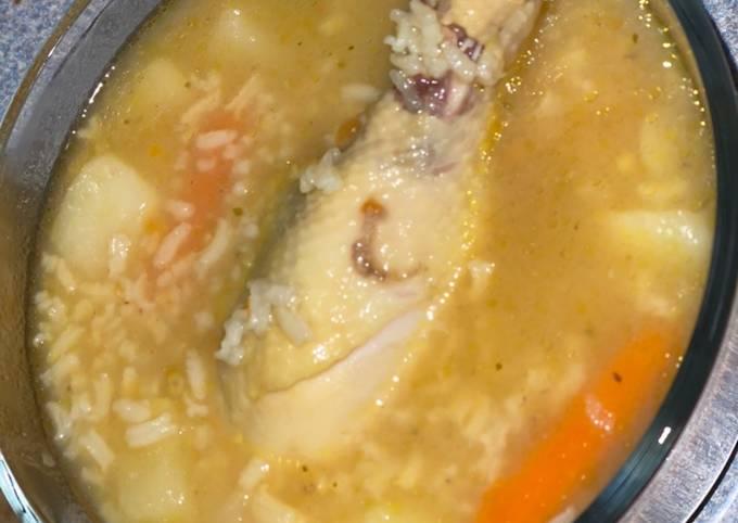 Caldo De Pollo (Chicken Soup)