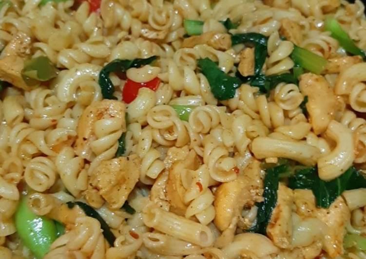 Indian style pasta