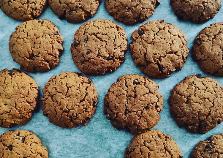 Ricetta Biscotti al caffè con gocce di cioccolato