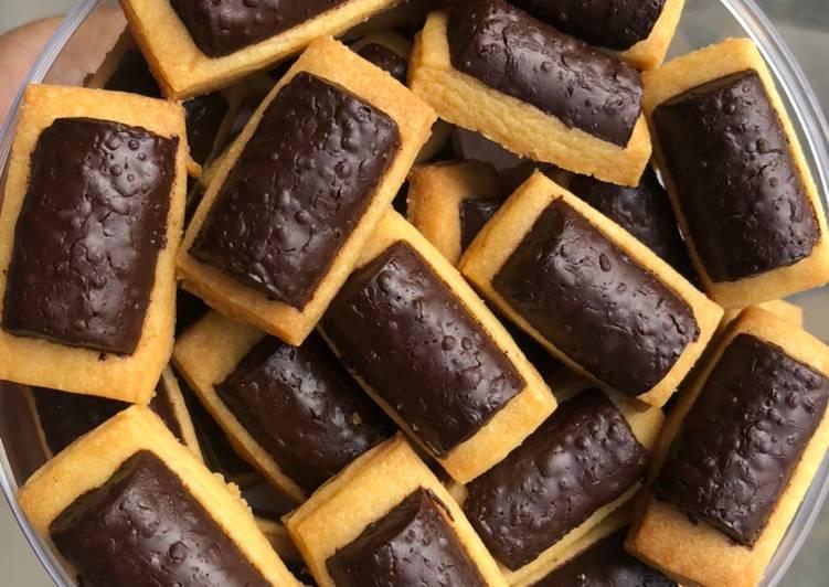 Resep Choco stick cookies untuk pemula
