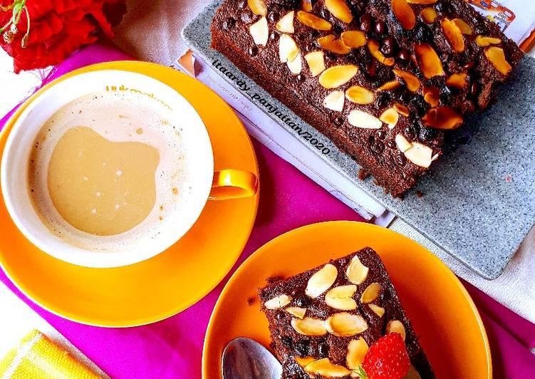 Brownies banana coffee