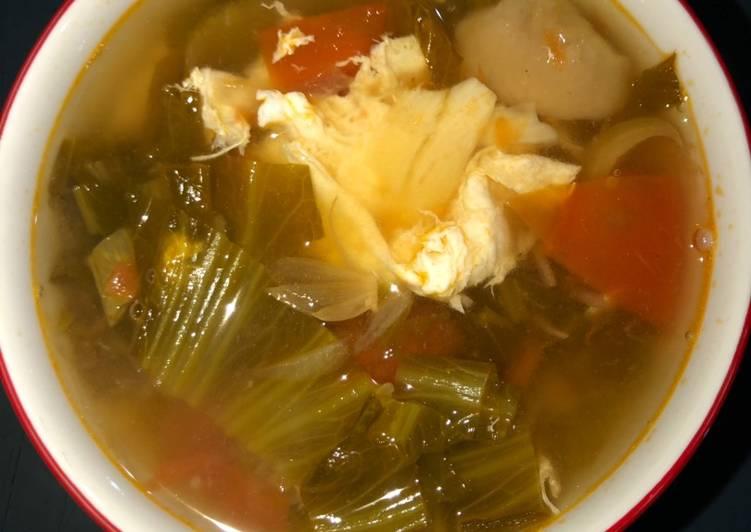 12🍒 Baikut sayur asin tanpa daging (vegetarian)