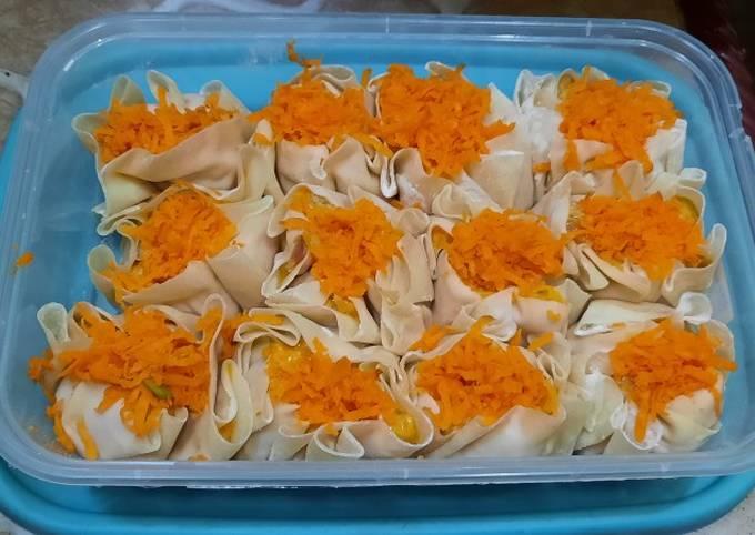 Siomay ayam udang (pakai wortel) - projectfootsteps.org