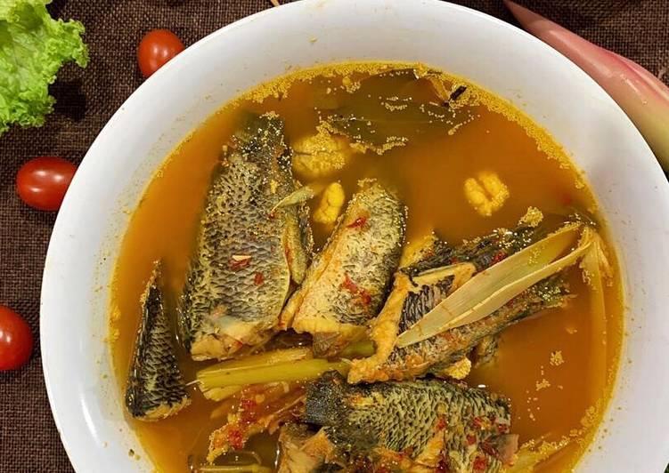 Asam Pedas Ikan Puyu