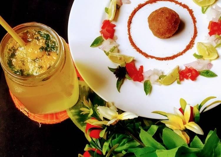 Recipe of Speedy Chicken tikka balls