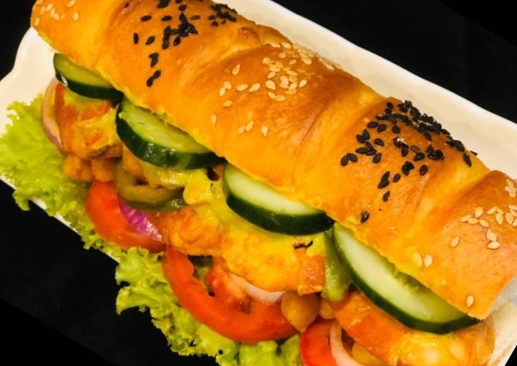 Grandmother's Dinner Ideas Quick Whosayna's Subway Prawns Fajita Sandwich