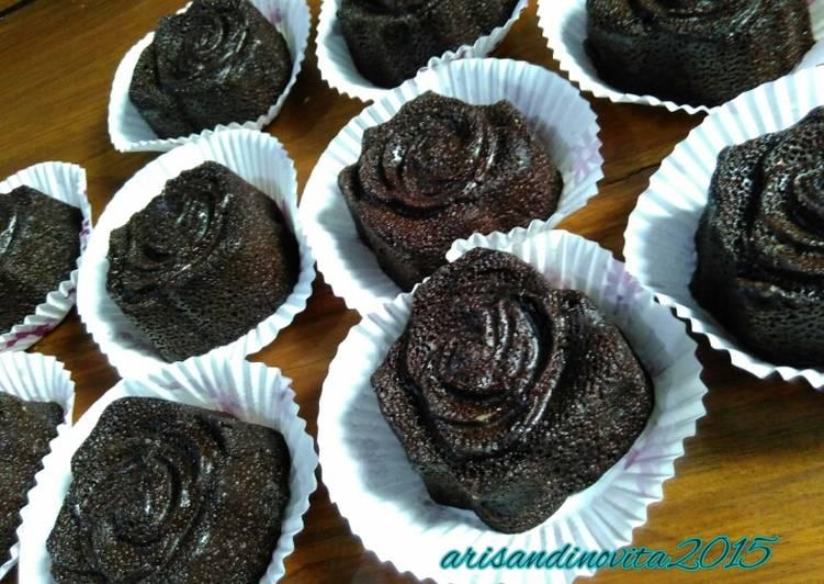Resep blackrose brownies eggless, Dijamin Endes