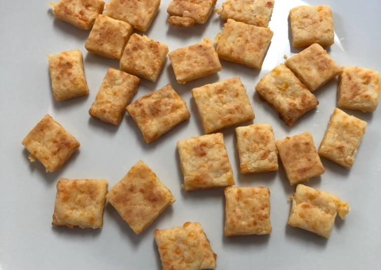 Recipe of Award-winning Best Homemade Cheezits Copy