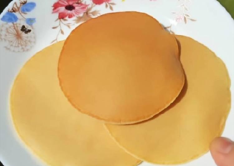 Pancake teflon mulus dan super simple ala hotel
