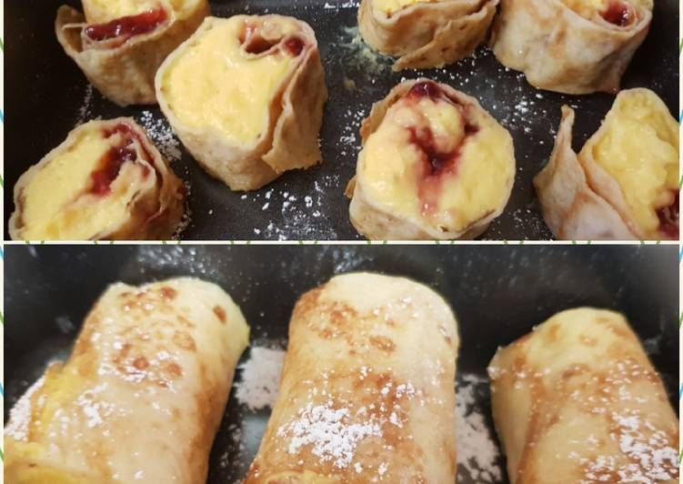 Use Food to Boost Your Mood My Custard Crepes 😘