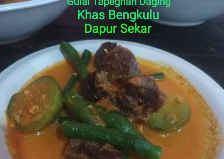 Gulai Tapeghan Daging Khas Bengkulu