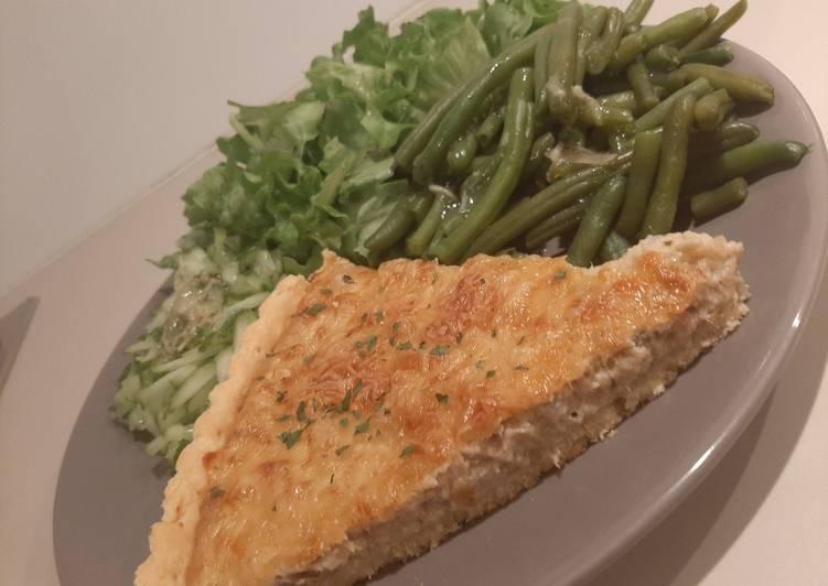 Comment Préparer Les Tarte au thon sans gluten
