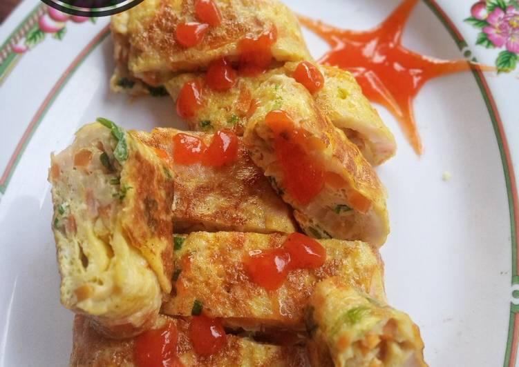 Gyeran Mari (Telur Gulung Korea) - cookandrecipe.com