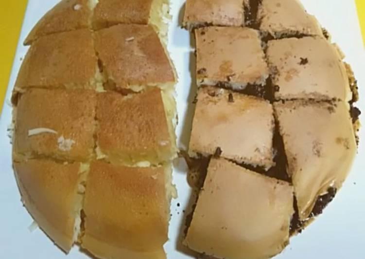 Langkah Mudah untuk Membuat Martabak manis keju dan coklat, Menggugah Selera